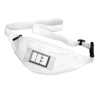 グリッド付き113ロゴ Belt Bag
