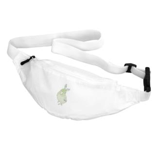 お羽飾り マメルリハちゃん【まめるりはことり】 Belt Bag