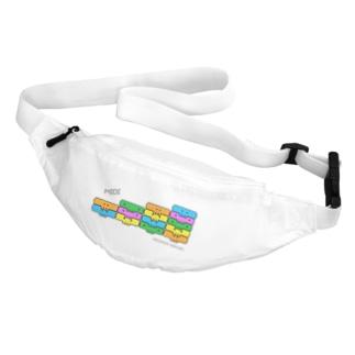 MIDIドクロ -整列ピコピコ Belt Bag