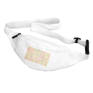 オレンジ四角隊 Belt Bag