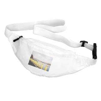 Yellow penguins Belt Bag