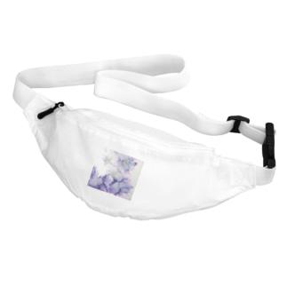 紫の花 Belt Bag