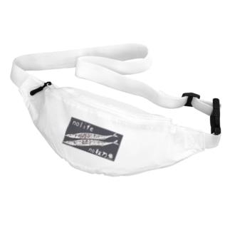 no life no 秋刀魚 Belt Bag