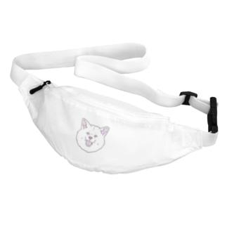 春風工房の秋田犬ハッピースマイル白毛 Belt Bag