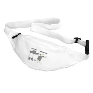 威嚇の練習 Belt Bag