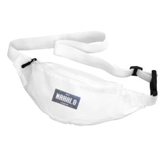 ナンバープレート【MAHALO】 Belt Bag