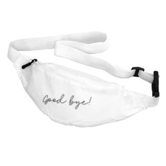 Good Bye! シンプル黒 Belt Bag