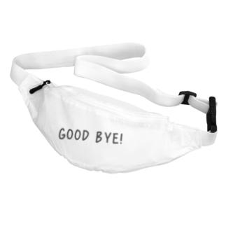 Good Bye! カジュアル黒 Belt Bag