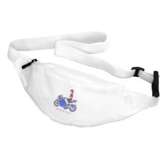 すぎ屋のバイク女子 Belt Bag