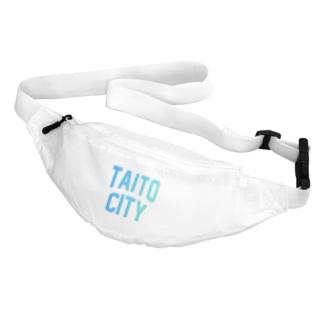 台東区 TAITO CITY ロゴブルー Belt Bag