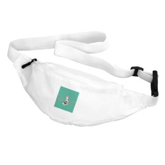 緑の女の子 Belt Bag