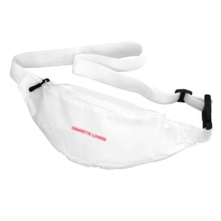 CIGARETTE LOVERS LOGO Waist Pouch Belt Bag