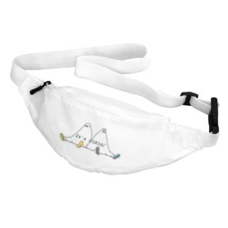 シロクマ商店のNOBODY-休憩 Belt Bag