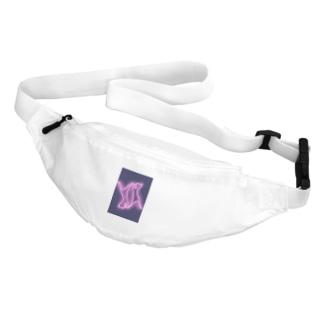 2対の猫(ネオン) Belt Bag