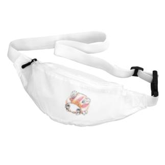ビーダマムシ・赤 Belt Bag