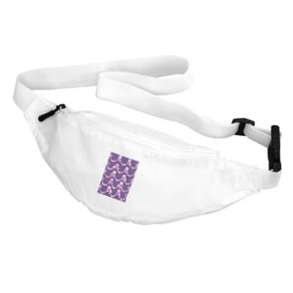 いちごと水晶玉のふんわり紫魔法 Belt Bag
