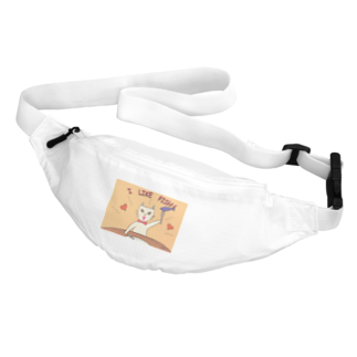 KIRARIの夢色雑貨屋さんの「I LIKE FISH!」 Body Bag