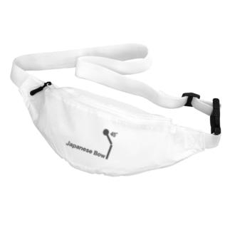 bow=おじぎ/ブラック Belt Bag