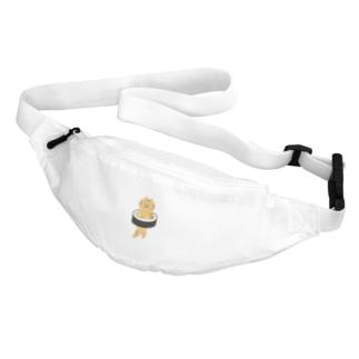 太巻きを自らに巻きつけて運ぶ猫 Belt Bag