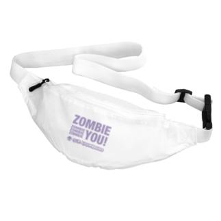 Zombie You!(purple print) Belt Bag