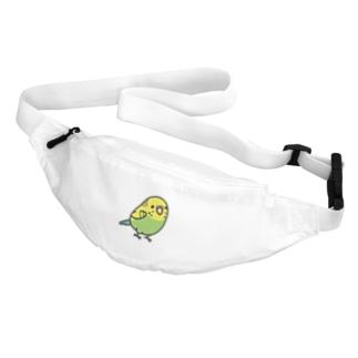 Chubby Bird セキセイインコ グリーン 女の子 Body Bag