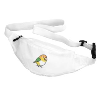 Chubby Bird シロハラインコ Body Bag