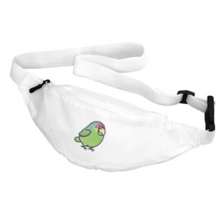 Chubby Bird フジイロボウシインコ Body Bag