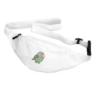 Chubby Bird ハネナガインコ Belt Bag