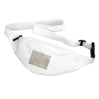 夢応の鯉魚L Belt Bag