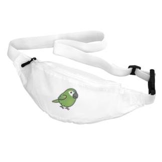 Chubby Bird コミドリコンゴウインコ Body Bag