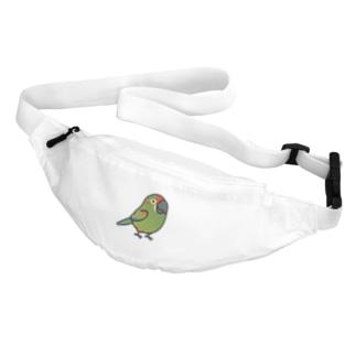 Chubby Bird アカミミコンゴウインコ Body Bag