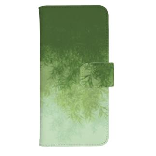 Willow (Green) ウォレットフォンケース