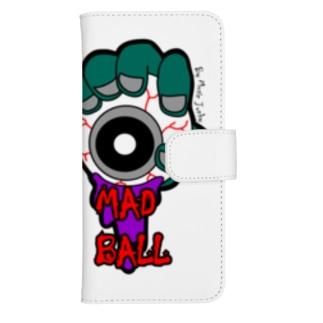 MAD BALL ウォレットフォンケース