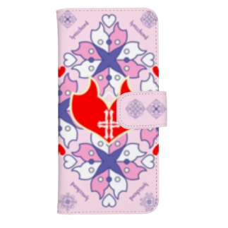 浪漫花-QUEEN-/桜/ウォレットフォンケース ウォレットフォンケース