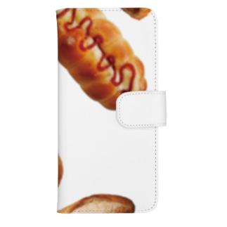 新デザインパンのパン文字 ウォレットフォンケース