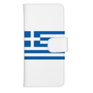 I ♥ Greece[アイラブギリシャ] ウォレットフォンケース