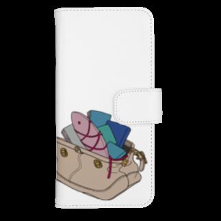 鞄金魚 ウォレットフォンケース