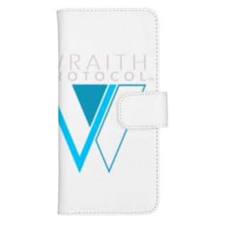 WRAITH PROTOCOL(レイス・プロトコル)ロゴ ウォレットフォンケース