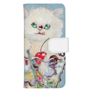 sweetcat ウォレットフォンケース