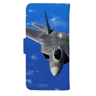 F-22 ラプター ウォレットフォンケース
