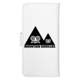 mountaingorillas ウォレットフォンケース