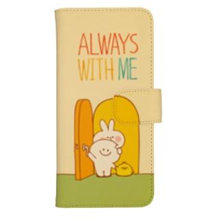 Spoiled Rabbit - ALWAYS WITH ME / あまえんぼうさちゃん - いつもいっしょ ウォレットフォンケース