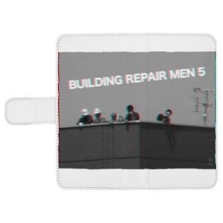 BUILDING REPAIR MEN 5 ! ウォレットフォンケース