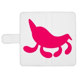 Moondrop Pink ウォレットフォンケース