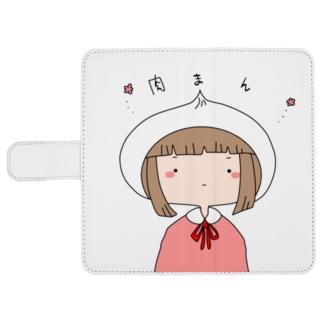【オリジナル】肉まん ウォレットフォンケース