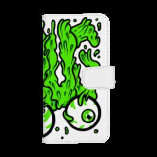 HUGオフォシャルショップのHUG, Slime, Melt... ウォレットフォンケース