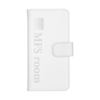 MFS room trim3(淡い灰色) ウォレットフォンケース