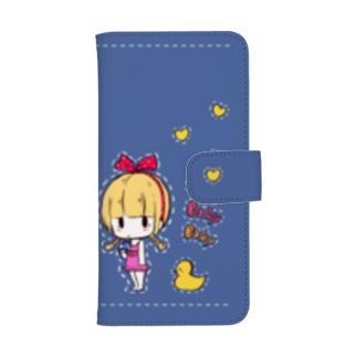 BABY BABY BABY【ブルー】 ウォレットフォンケース