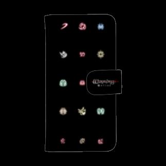 Wizardry Online 公式グッズのスキルアイコンウォレットフォンケース
