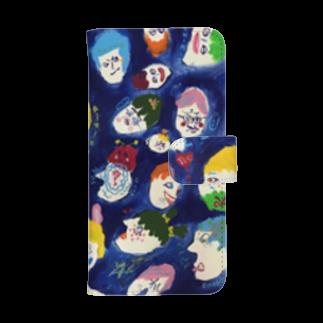 Natsumi Shirokiのだれ? 手帳型スマホケースウォレットフォンケース